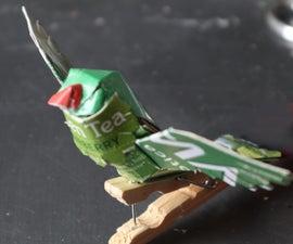Little Green Peg Parrot