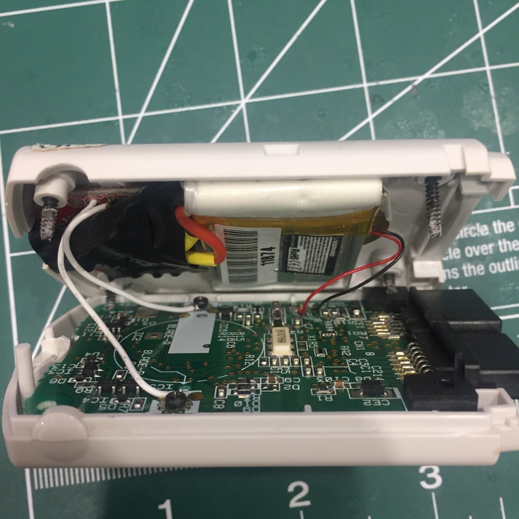 Put PCB and Battery Inside