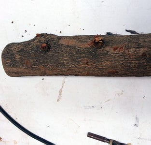 Drill the Hole on the Log