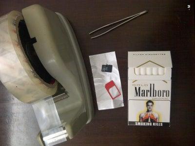 Hiding Sim/memory Card Inside a Cigarette Box(Cigarette Idea 3 of 5) - (Made for a Contest Long Lost)