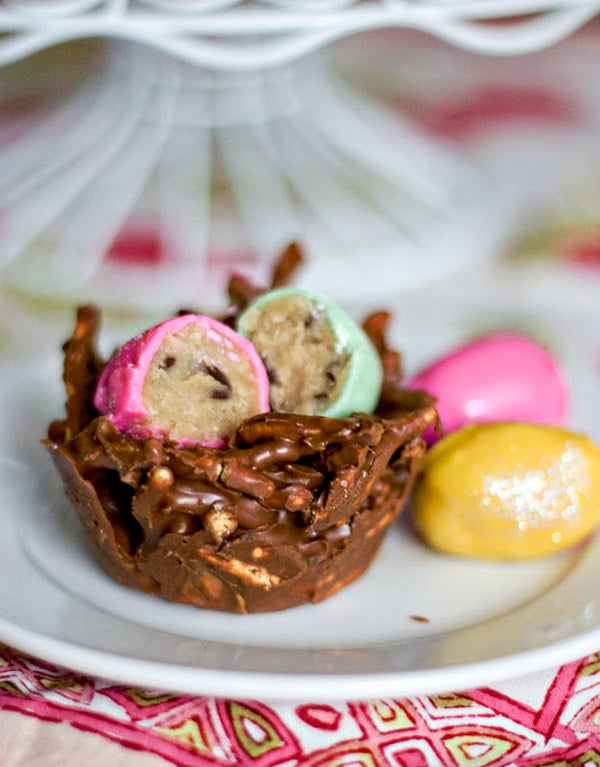 Cookie Dough Eggs and Chocolate Peanut Butter Nests