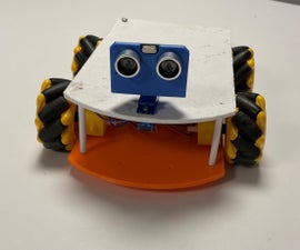 Omnidirectional Car With Obstacle Detection