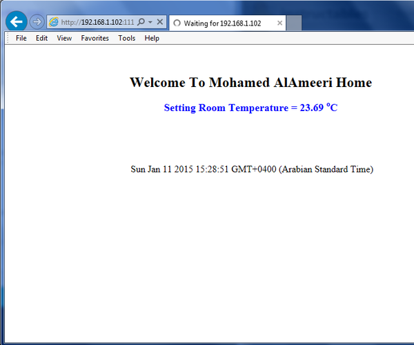 Measure Temperature on the Web With Arduino Ethernet and DS18B20 Sensor