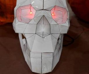 Skull Led Papercraft
