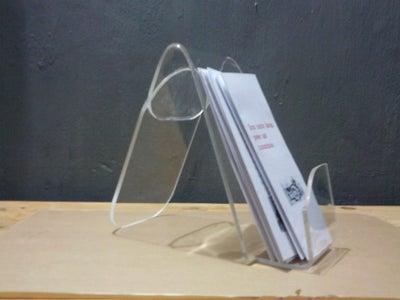Acrylic Pamphlet Holder