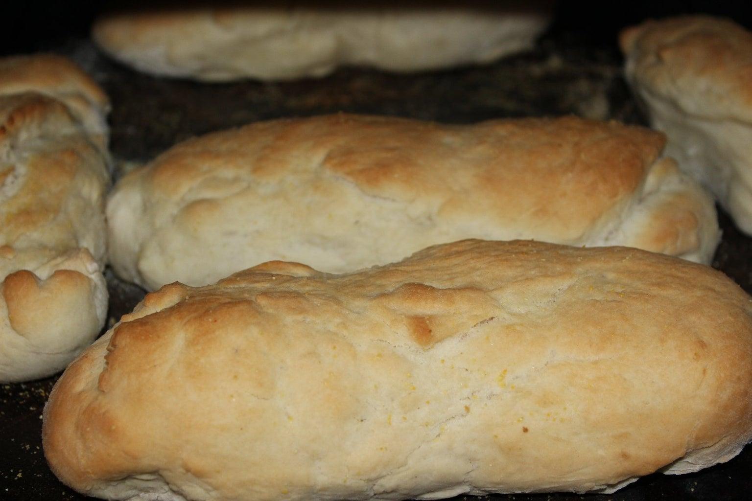 Mini Loaves With Sauce