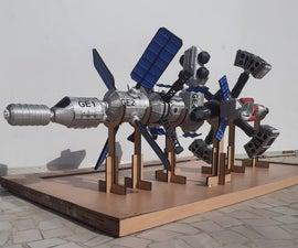 GALACTIC EXPLORER - Design & Make Your Own Spaceship Prototype
