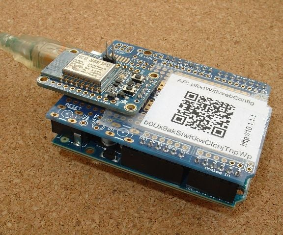 Very Cheap/Simple WiFi Shield for Arduino and Microprocessors