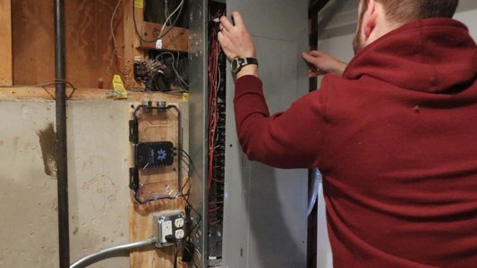 Run Conduit Between Electrical Panel and Box