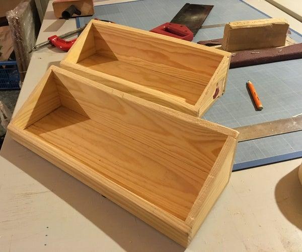 A Shelf From a Cognac Box