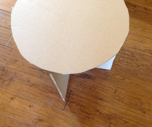 Make a Cardboard and Duct Tape Table