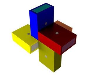 火柴盒拼图