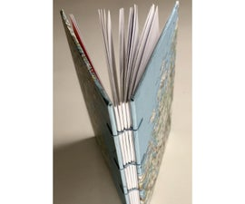 Map Hardcovers for Coptic Books
