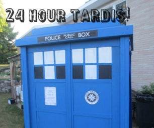 How to Build a Tardis Photobooth in 24 Hours!