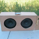 Car Speaker Boom Box