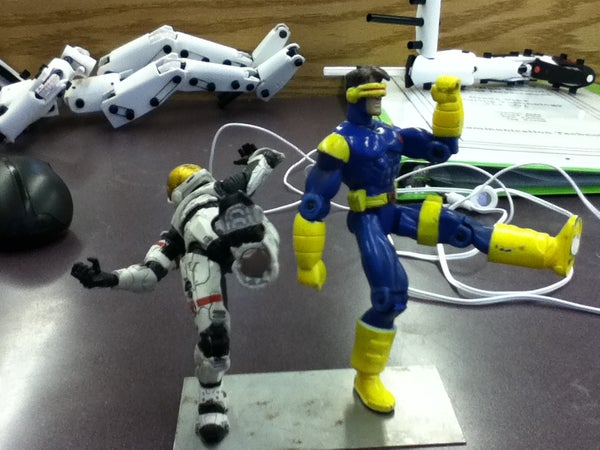 How to Install Rare Earth Magnets in the Feet of Action Figures