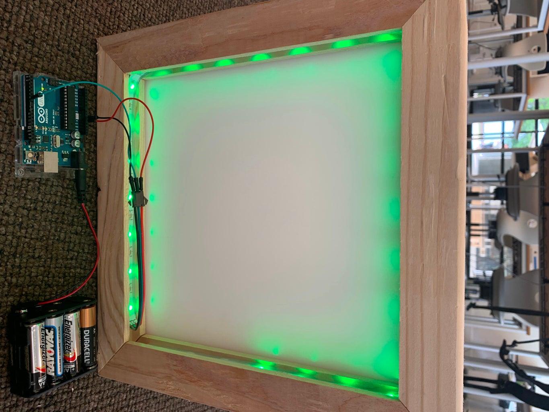 LED Box for the Delta School Symposium