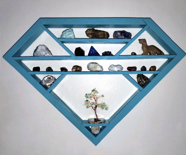 Diamond Shaped Rock Shelf