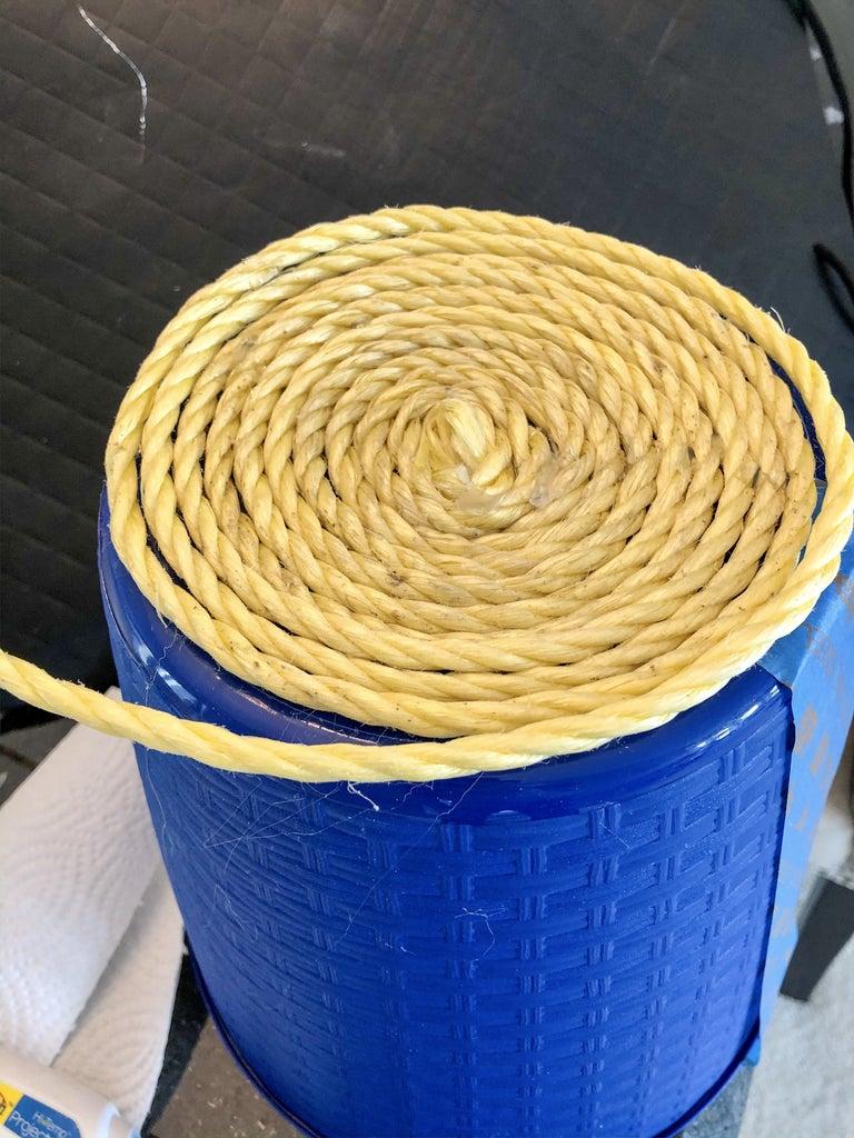 Begin Adding Rope