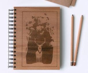 木笔记本用刻盖盖子