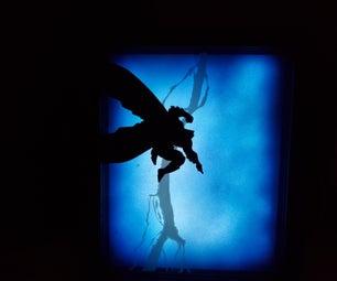 Batman Multi-Layered Glass Cordless LED Night Light