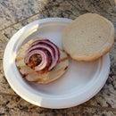 Bacon & Blue Cheese Burgers