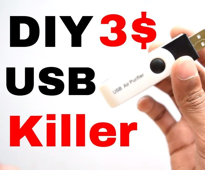 How To Make USB KiIler + Tester From 3 $ Ionizer !
