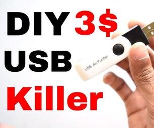 Destroy Any Computer Mobile With $3 USB KiIler !
