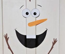Olaf Door Decoration
