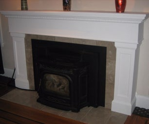 The Plywood and Poplar Mantel