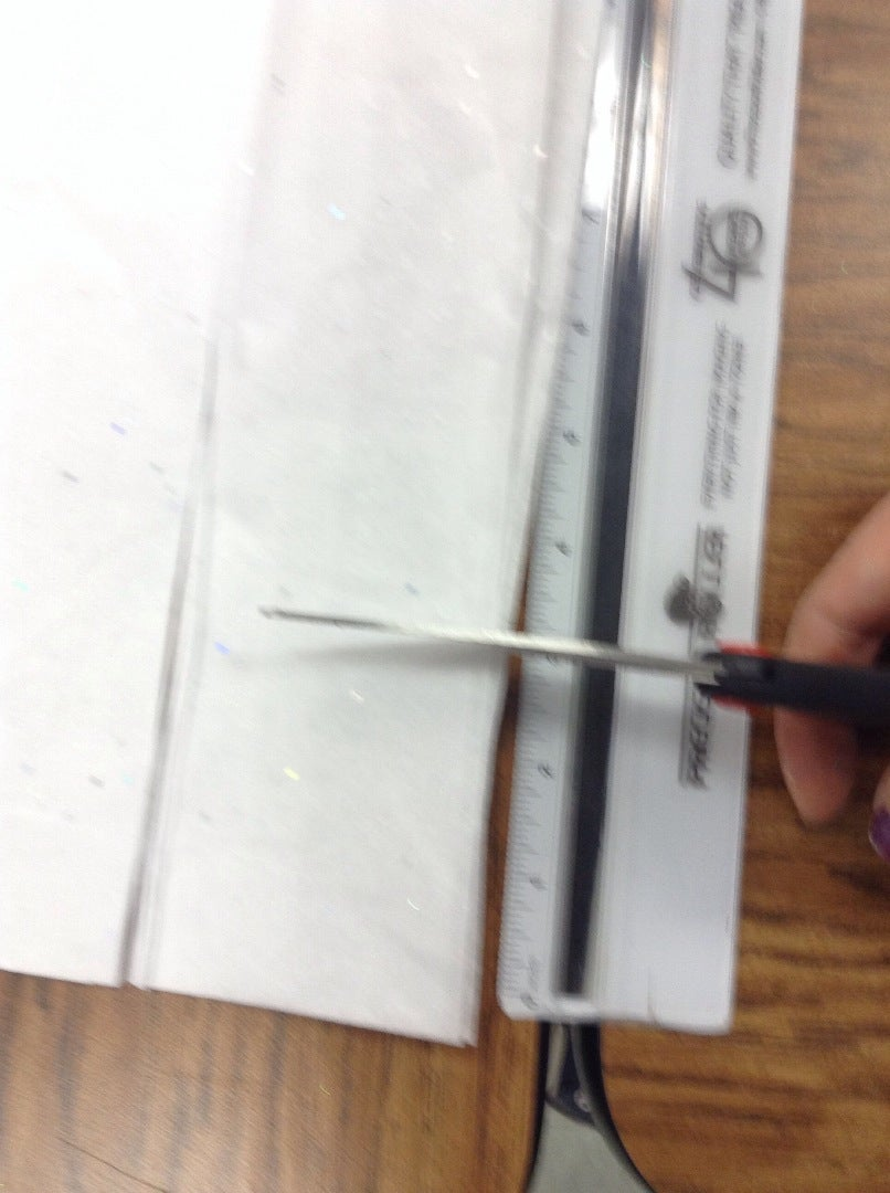 Covering the Styrofoam