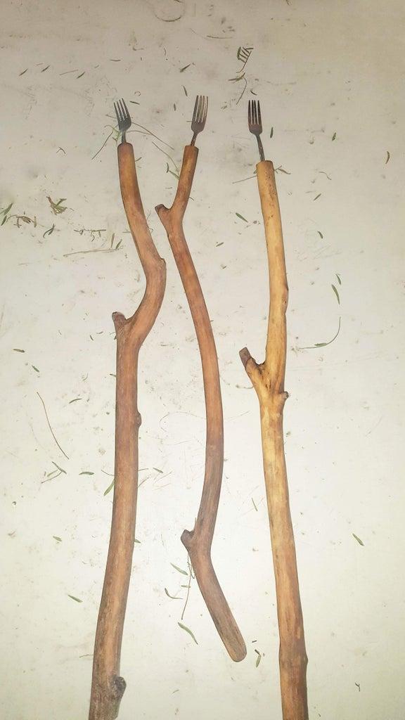 Kid Friendly Roasting Stick