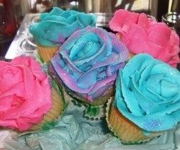 Rose Cupcake Bouquet