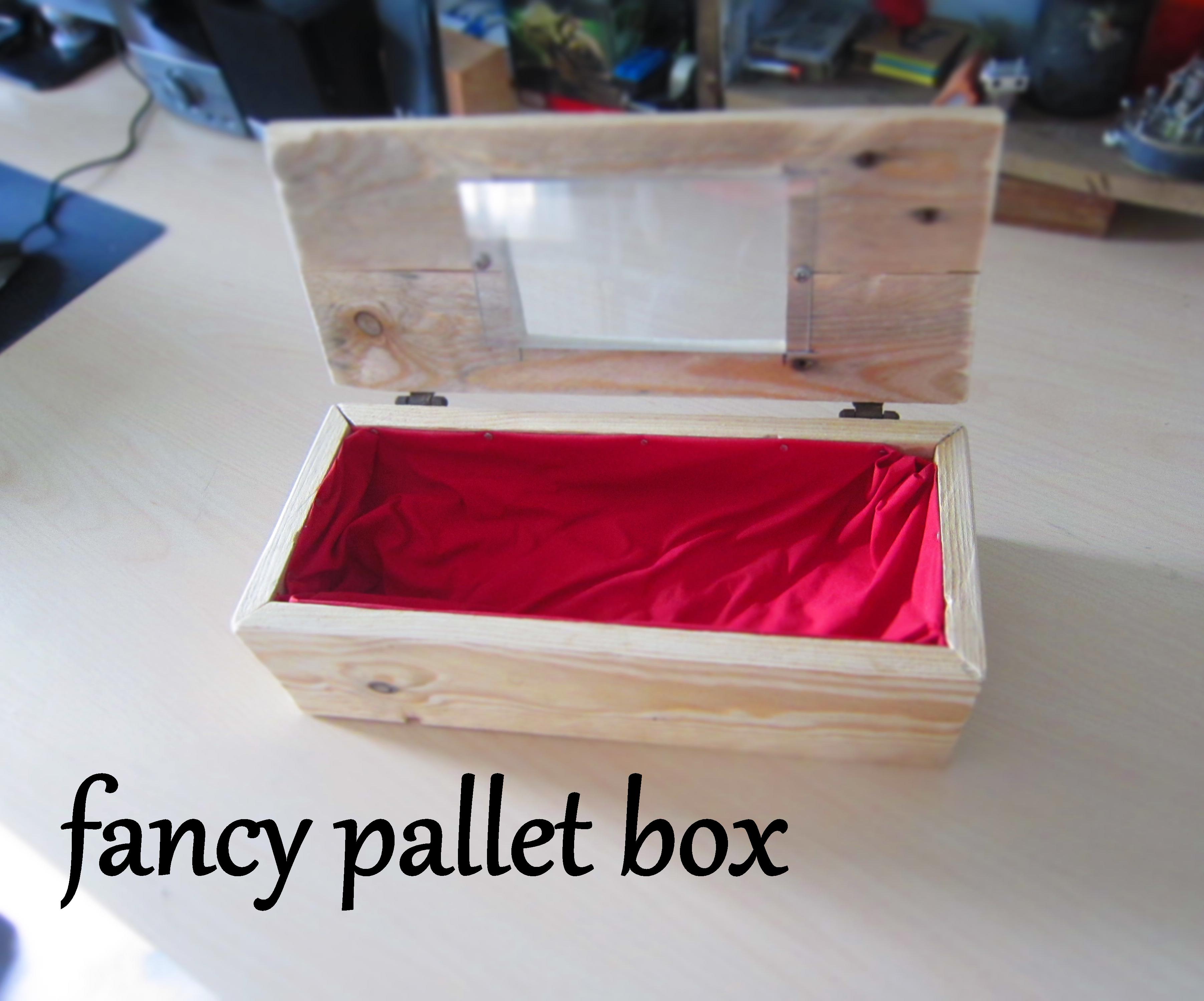 Fancy pallet box