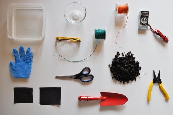 Create Your Own Mud Battery / Bouw Je Eigen Modderbatterij