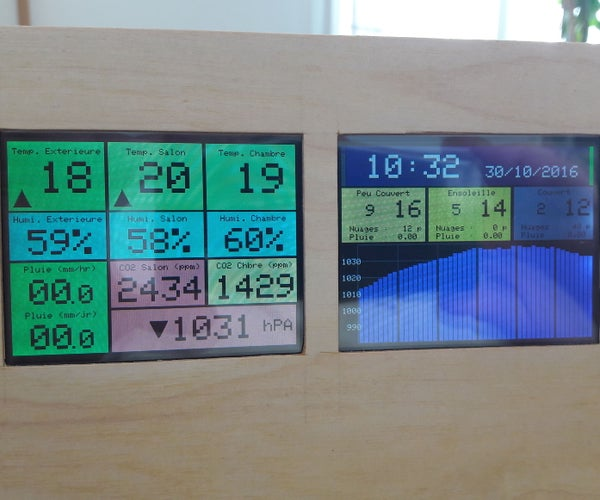 Netatmo DualScreen Station