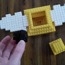 """''Harry Potter"""" Lego Snitch with resurrection stone"""
