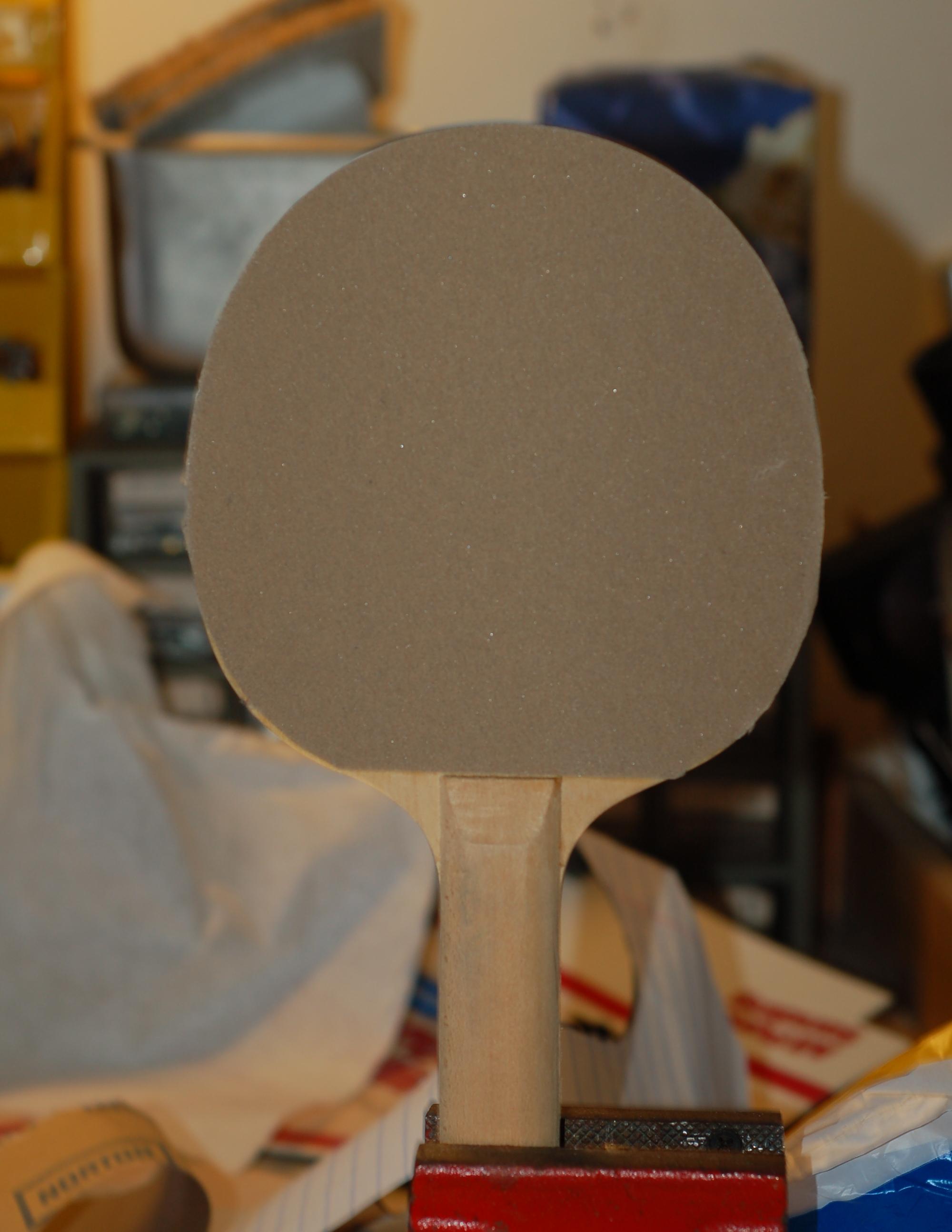 Resurface a Ping Pong Paddle!