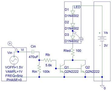 LED Small Signal Detector