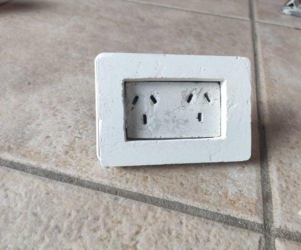 Electric Concrete Outlet