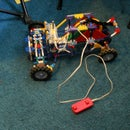 {Knex Truck} Front Suspension, Steering, Rear Wheel Drive (RWD)