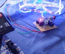 DIY Ir Remote Controlled Led Strip
