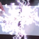 Augmented Reality Fusion Effects using MultiTarget Tracking (Unity3D, Vuforia)