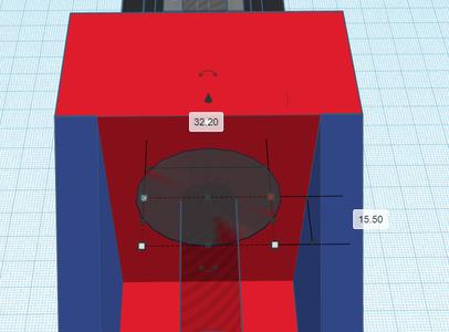 Design Process - Stepper Motor Mount - Bearing Cutouts