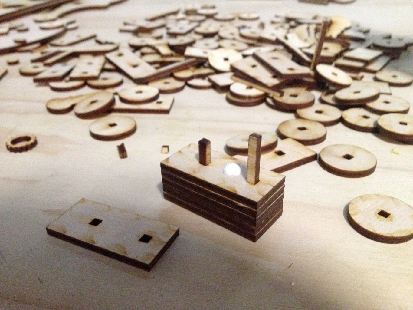 Glueing Small Parts