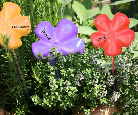 Plastic Herb Name Tags