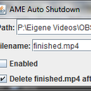 Automated Shutdown After Rendering/Encoding