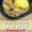 Coconut Curry Beef Stew!