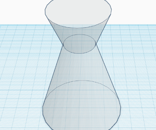 How to Make a Chemist Flask in TinkerCad in 2 EASY STEPS!