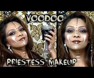 Voodoo Priestess Makeup Tutorial
